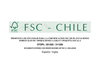FSC-STD-CHL-01-2005 Chile Plantation and SLIMF EN
