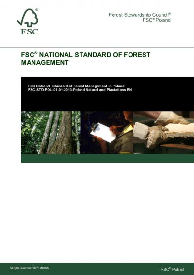 FSC-STD-POL-01-01-2013 Poland Natural and Plantations EN