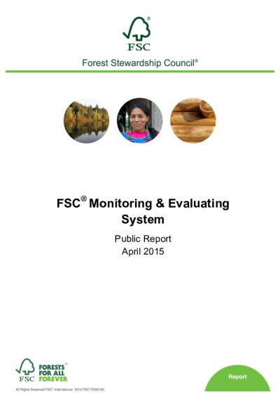 FSC Monitoring and Evaluation System Report