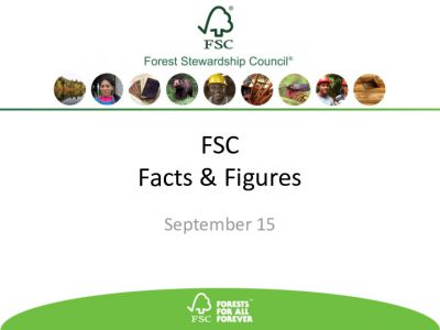 Facts & Figures September 2015