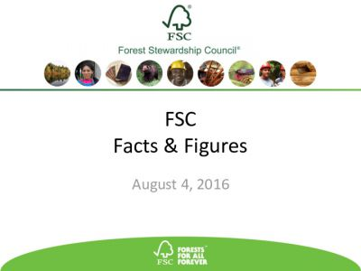 Facts & Figures August 2016