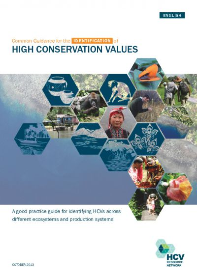 Common Guidance for the management and monitoring of High Conservation Values English