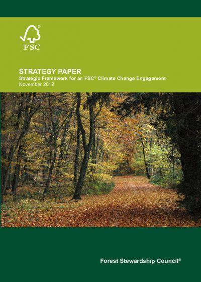 FSC Strategy Climate Change Engagement_2012 update