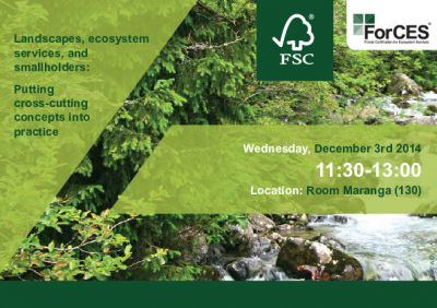Join FSC at COP 20!