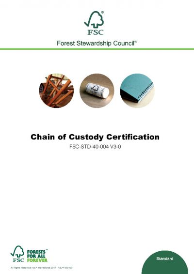 FSC-STD-40-004 (V3-0) EN CHAIN OF CUSTODY CERTIFICATION