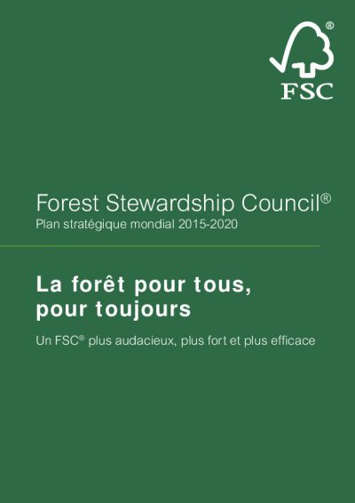 Global Strategic Plan 2015-2020 (French)