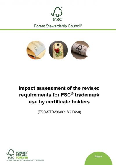 Impact assessment of the revised requirements