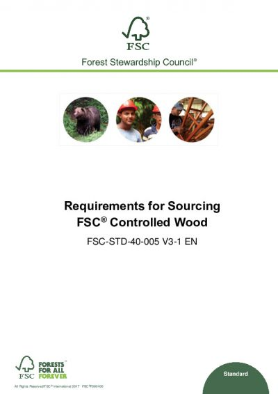 FSC-STD-40-005 V3-1 EN_Requirements for Sourcing FSC Controlled Wood