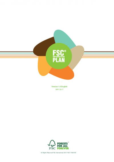 FSC Implementation plan 2017
