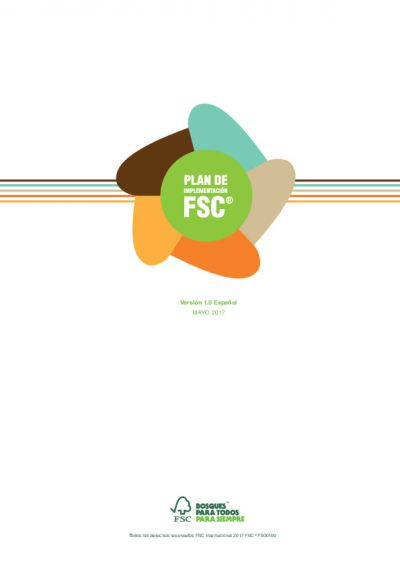 Plan de Implementación FSC 2017