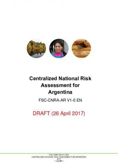 Argentina CNRA Draft