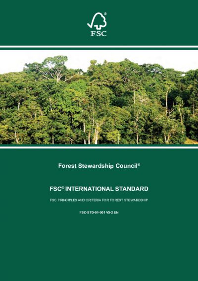 FSC Principles and Criteria for Forest Stewardship (FSC-STD-01-001 V5-2 EN)