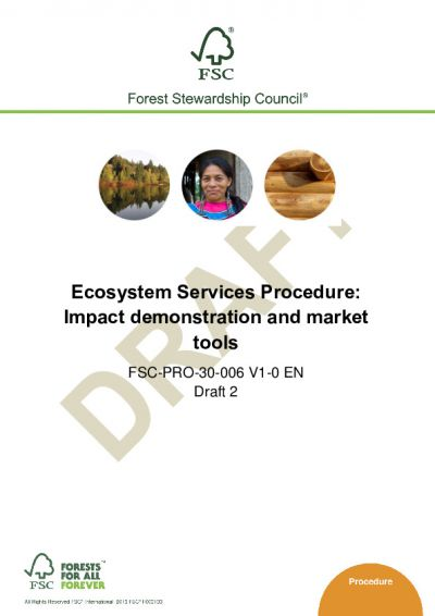 Ecosystem Services Procedure Draft 2