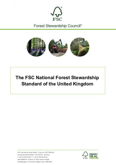 FSC-STD-GBR-03-2017 V1-0 EN UK ALL FOREST TYPES AND SCALES EN