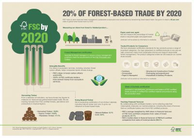 20 PER CENT OF FOREST-BASED TRADE BY 2020 - INFOGRAPHIC