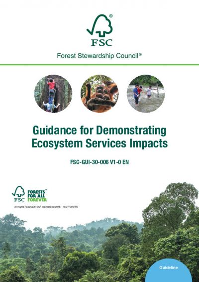 Guidance for Demonstrating Ecosystem Services Impacts