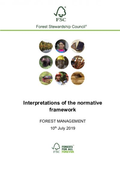 Forest Management Interpretations