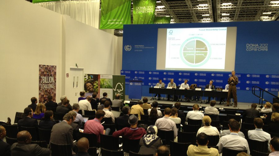 Joint side event at COP 18