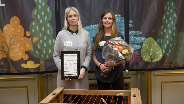 Anne Nørbjerg and Sanne Kyed, winners of the FSC Design Awards 2012 (© FSC Denmark)