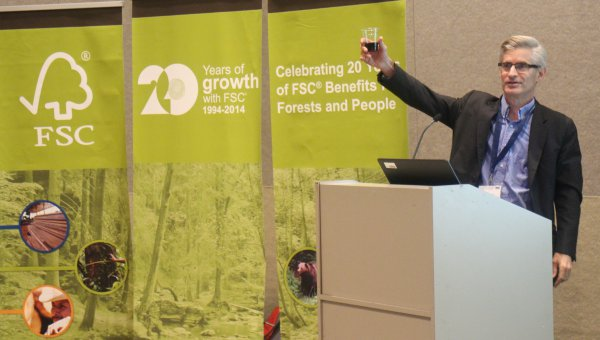 Prof. Dr. Ben Cashore, Director of the Program on Forest Policy and Governance at Yale University. (© FSC A.C.)
