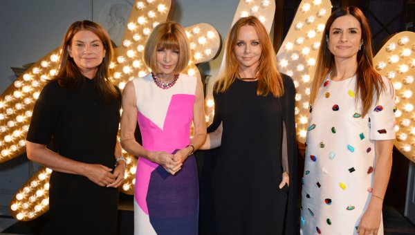 Natalie Massenet, Anna Wintour, Stella McCartney and Livia Firth (© Eco Age)