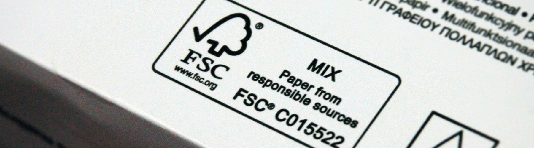 What it means when you see the fsc label on a product