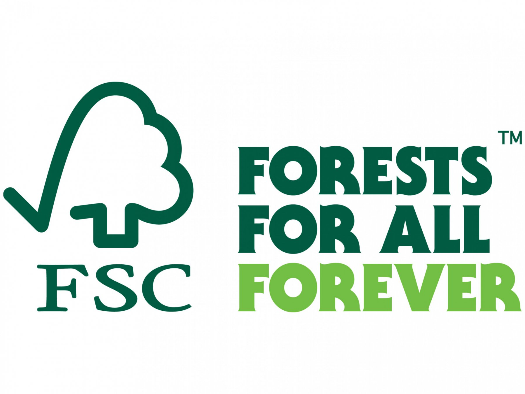 Using fsc trademarks fsc international the forests for all forever brandmark without silhouettes buycottarizona Gallery