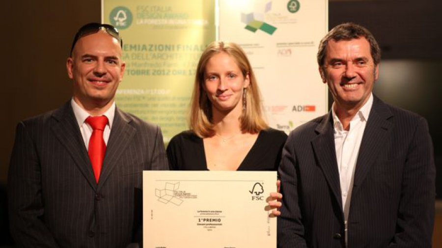 FSC Italy Design Award: the project Spline (© Images © FSC Italy)