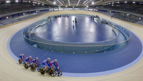 The Sustainable Timber Olympic Legacy: Velodrome – London Olympic Games 2012 (© © Olympic Development Authority)
