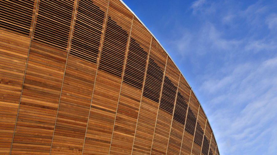 Velodrome London 2012 - exterior 2 (© Images © Olympic Delivery Authority)