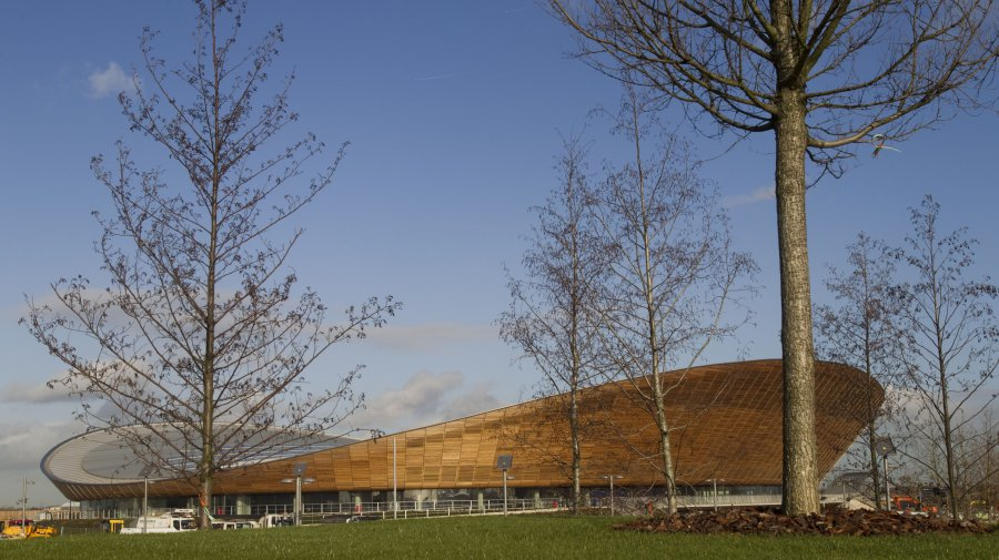Velodrome London 2012 - exterior (© Images © Olympic Delivery Authority)