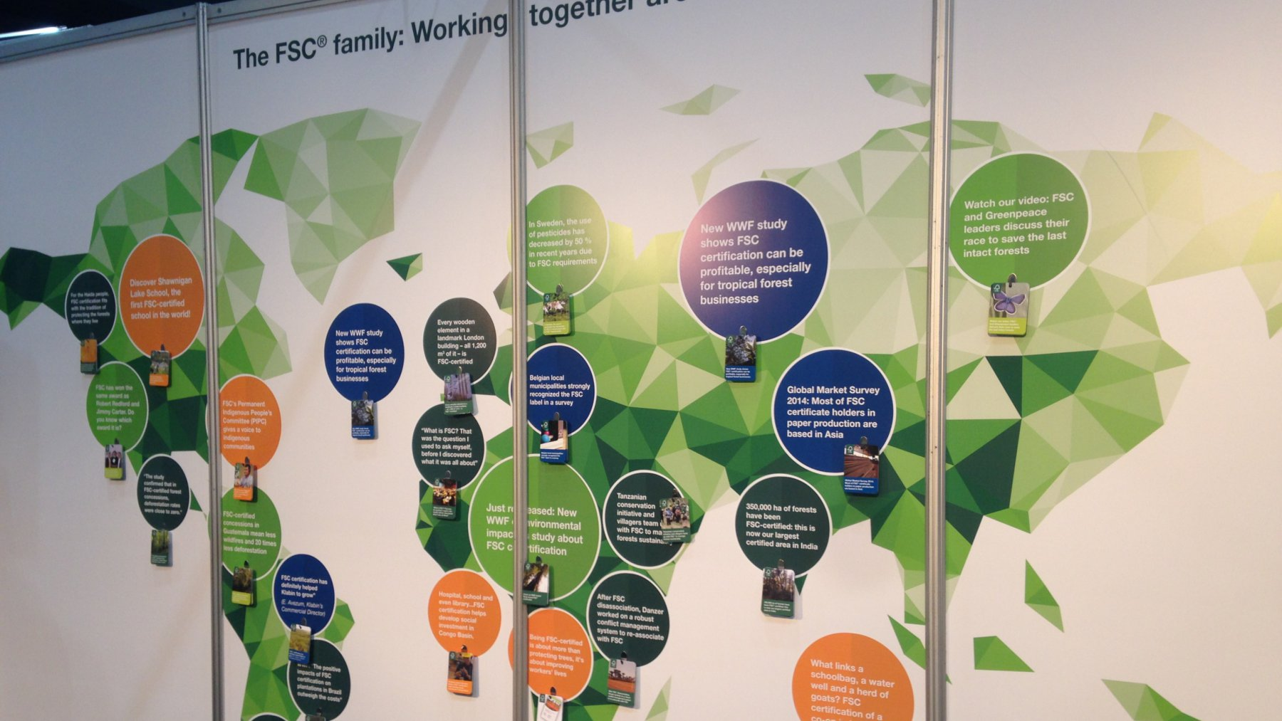 The FSC family: Working together around the world
