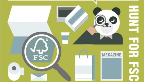 Hunt for the FSC logo