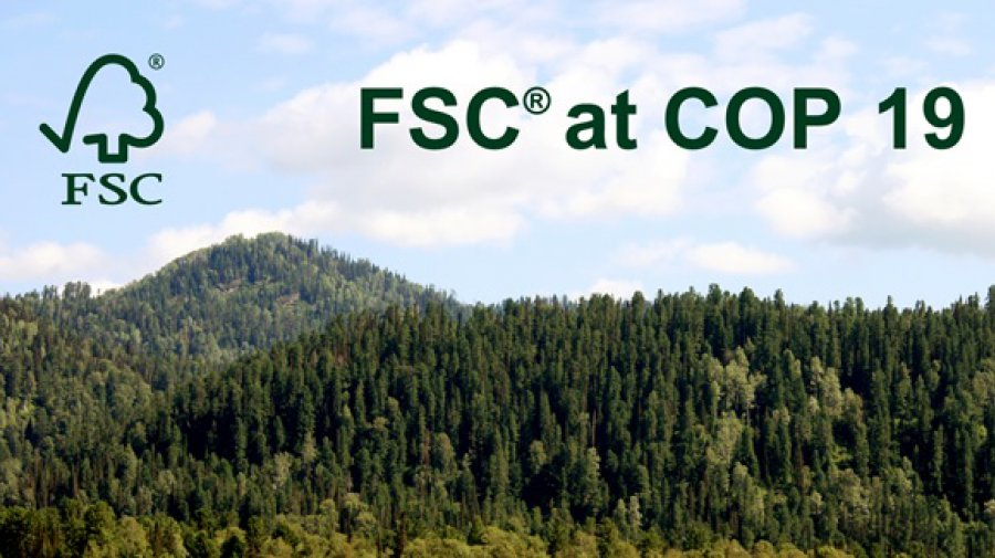 Join FSC at COP 19!