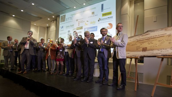 Amsterdam, 6th November: Almost 40 organizations commit to join the European Sustainable Tropical Timber Coalition (European STTC) (© Marc van der Kort)