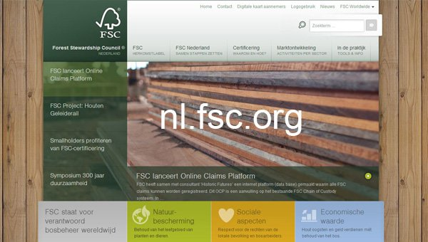 FSC Netherlands unveils new website (© FSC A.C.)
