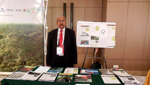 FSC was represented by its national representative for India, T.R. Manoharan. (© FSC A.C.)