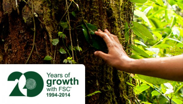 20 Years of growth with FSC® · 1994 - 2014