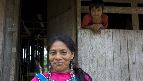 Indigenous community leader in Peru (© FSC GD / Christian Irrgang)