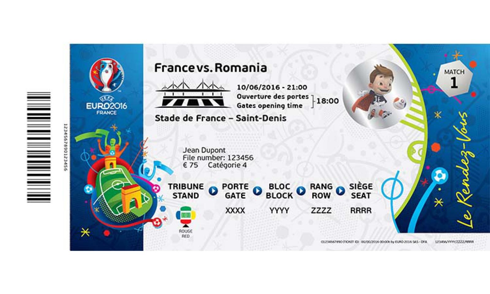 uefa uefa unveils fsc certified euro 2016 tickets