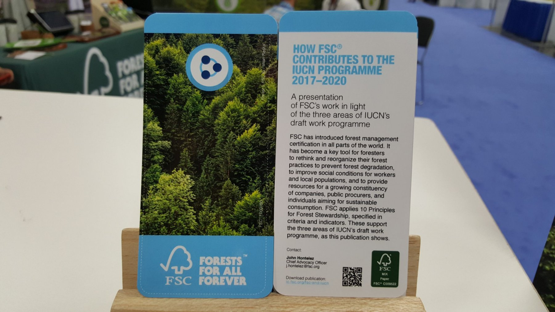 Fsc at the iucn wcc 2016 fsc international how fsc contributes to the iucn programme 20172020 xflitez Image collections